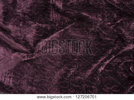 Purple Velvet Fabric Swatch