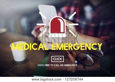 Medical Emergency Diagnosis Hospital Healthcare Concept