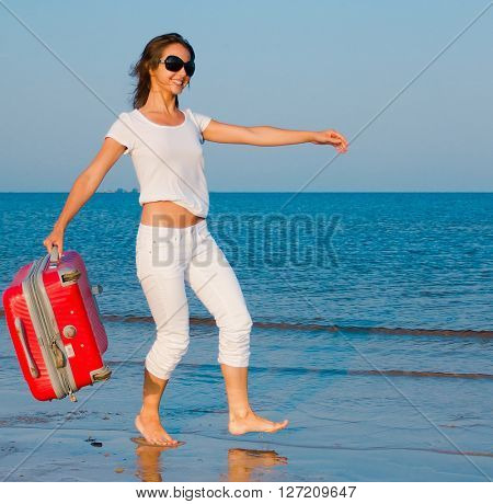 Beach Joy Tourist