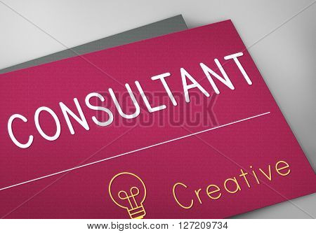Consultant Career Contact Connection Concept