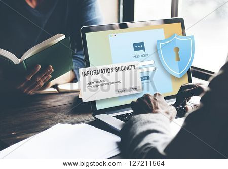 Information Security Content Data Facts Information Concept