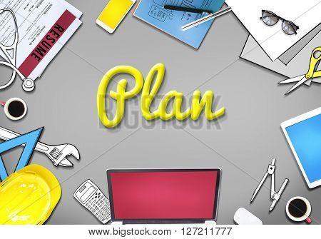 Plan Planning Ideas Business Concept