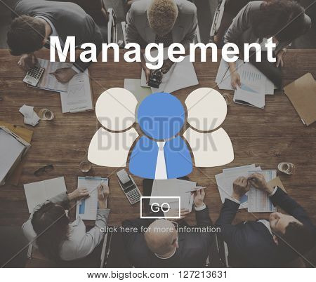 Management Corporate Cooperation Company Concept