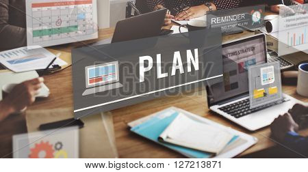 Plan Planning Design Operations Process Ideas Concept