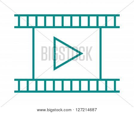 Blank light leaked highly detailed real vintage negative film frame camera cinema filmstrip vector illustration. Outline art film strip and negative frame film strip. Video entertainment film design.