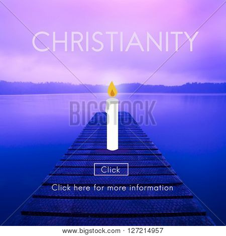 Christianity Jesus Christ Believe Faith God Religion Concept