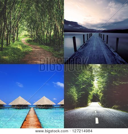 Nature Ecology Vacation Holiday Trip Serenity Concept