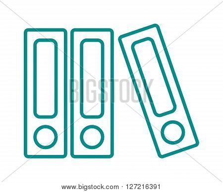 Books icons isolated on white background literature library education vector symbol. Books icons library education and learning text books icons. Paper encyclopedia books icons and knowledge icons.