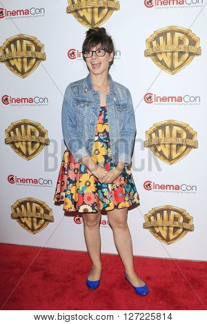 LAS VEGAS - APR 12:  Katie Crown at the Warner Bros. Pictures Presentation at CinemaCon at the Caesars Palace on April 12, 2016 in Las Vegas, CA