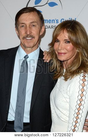 LOS ANGELES - APR 14:  Brad Allen, Jaclyn Smith at the 2016 Women's Guild Cedar-Sinai Annual Spring Luncheon at the Beverly Wilshire Hotel on April 14, 2016 in Beverly Hills, CA
