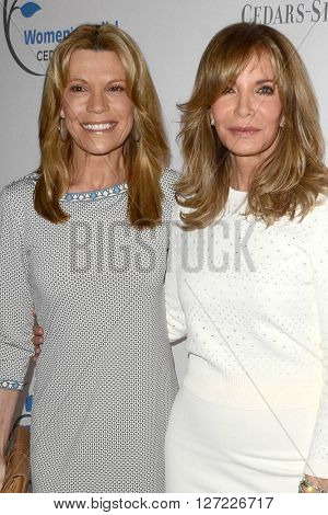 LOS ANGELES - APR 14:  Vanna White, Jaclyn Smith at the 2016 Women's Guild Cedar-Sinai Annual Spring Luncheon at the Beverly Wilshire Hotel on April 14, 2016 in Beverly Hills, CA