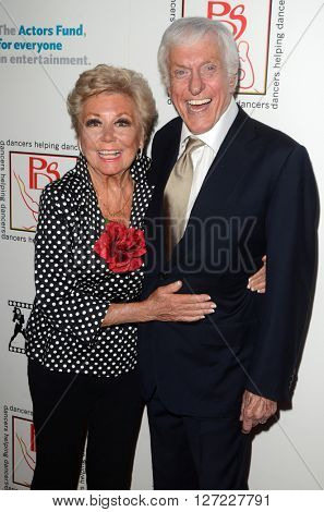 LOS ANGELES - APR 24:  Mitzi Gaynor, Dick Van Dyke at the Professional Dancers Society's Annual Gypsy Awards Luncheon at the Beverly Hilton Hotel on April 24, 2016 in Beverly Hills, CA