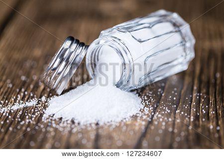 Salt Shaker (close-up Shot)