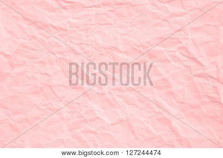Rose Quartz Crumpled Paper Texture