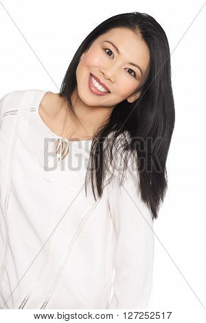 Happy Asian Woman