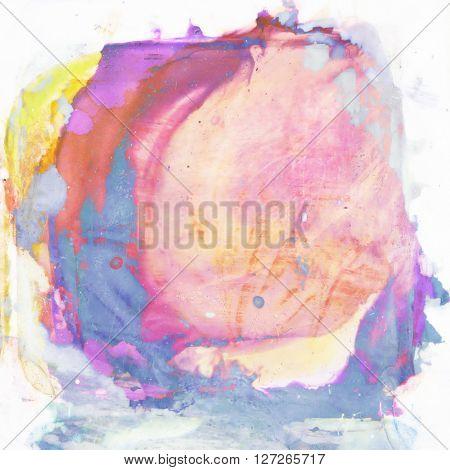 part of the close-up, paint palette spot