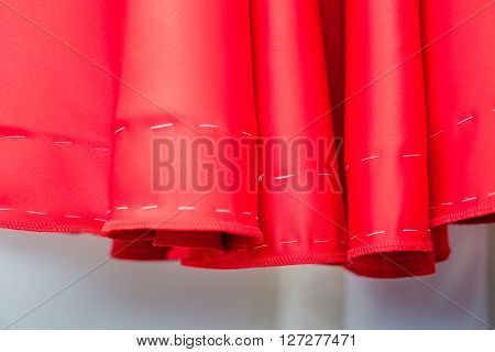 Pattern Of The Red Dresses