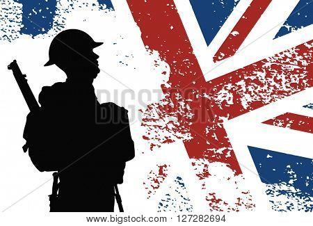 British soldier WWII