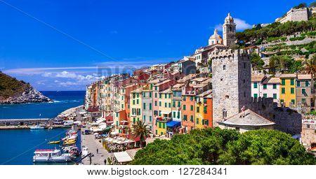 Portovenere - beautiful famous Cinque Terre in Liguria, Italy