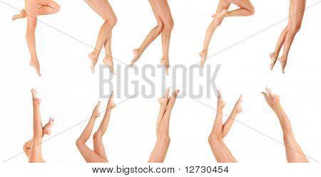 Legs Isolated Beauty