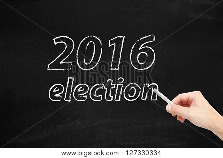 The election in 2016