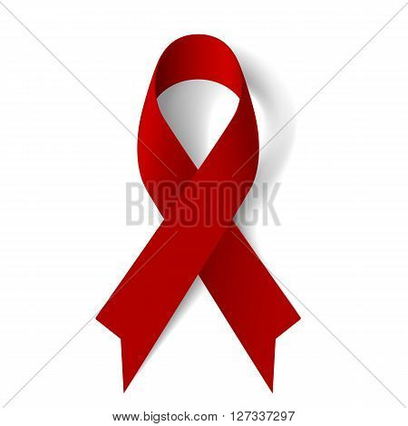 Burgundy awareness ribbon as symbol of Multiple Myeloma oral cancer amyloidosis support brain aneurysm and adults with disabilities support