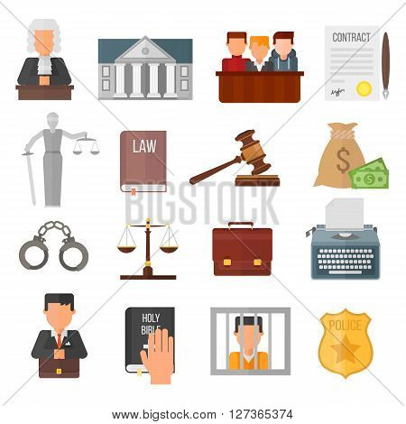 Law justice legal court lawyer judgment judge gavel symbol vector. Courtroom law justice and balance verdict law justice. Attorney legislation courthouse punishment concept judgement.