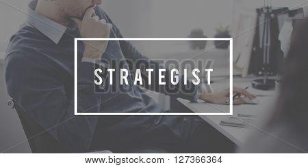 Strategist Planning Process Solution Mission Concept