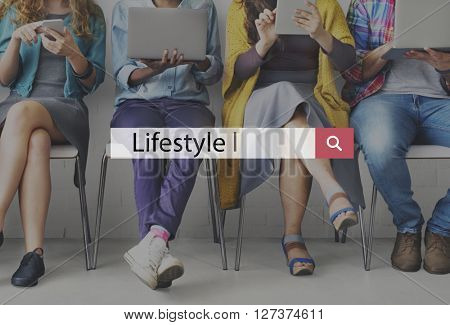 Lifestyle Behaviour Culture Habits Interests Concept