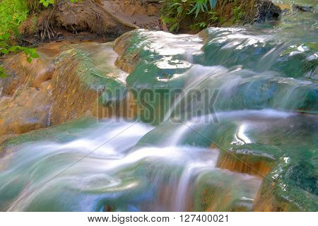 hot spring at Khlong Thom Nuea Khlong Thom District Krabi ProvinceTHAILAND.
