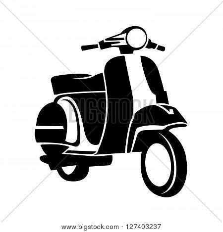 Scooter Symbol .Eps 10 editable vector Illustration design