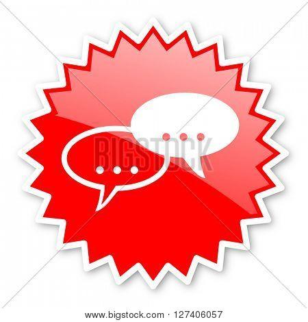 forum red tag, sticker, label, star, stamp, banner, advertising, badge, emblem, web icon