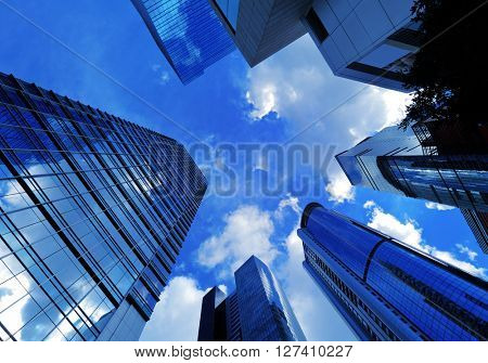 Office building to sky