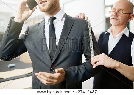 Measuring sleeve