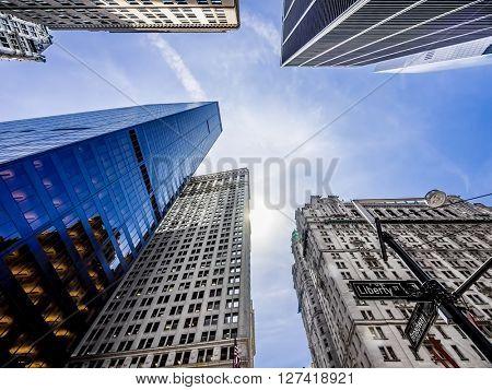 Skyscrapers/Buildings in New York City