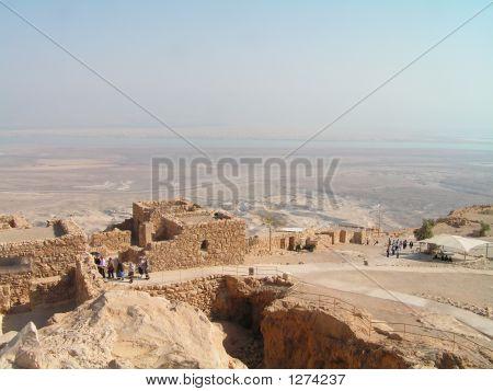 Masada Fortress Inside
