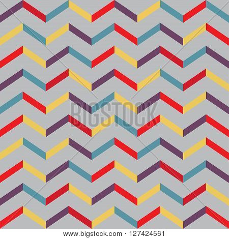 Seamless parquet pattern. Vector illustration for your design.