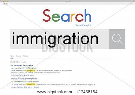 Immigration People Diversity Asylum Concept