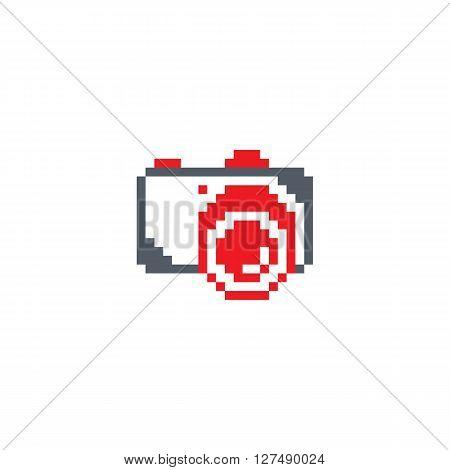 Pixel Photography Theme Logotype