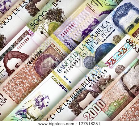 Peso Wall Background