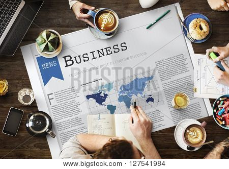 Business Company Development Enterprise Concept