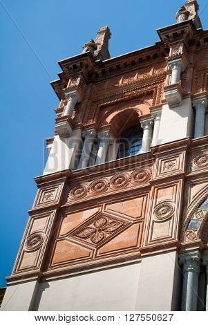 Milan, Italy - September 5th 2015: Civic Museum of Natural History in Milan (Museo Civico di Storia Naturale di Milano) photographed on a sunny day.