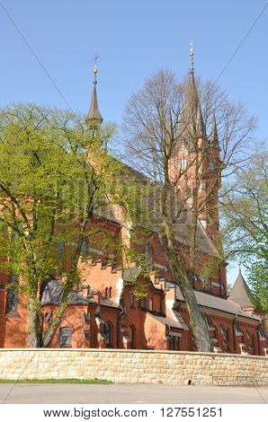 Basilica of Saint Stanislaus Bishop and Martyr in Szczepanów Poland