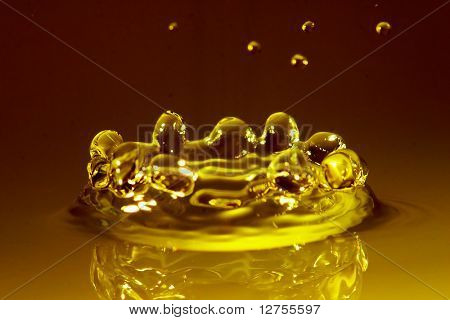 Amber water