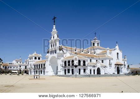 Hermitage Aldea del Rocio, Almonte, Huelva, Spain