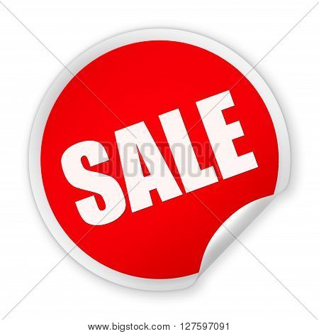Sale Round Sticker