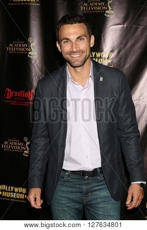 LOS ANGELES - APR 27:  Erik Fellows at the 2016 Daytime EMMY Awards Nominees Reception at the Hollywood Museum on April 27, 2016 in Los Angeles, CA
