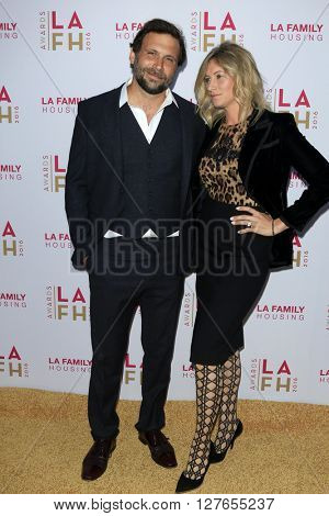 LOS ANGELES - APR 21:  Jeremy Sisto, Addie Lane at the LA Family Housing Awards at the The Lot on April 21, 2016 in Los Angeles, CA
