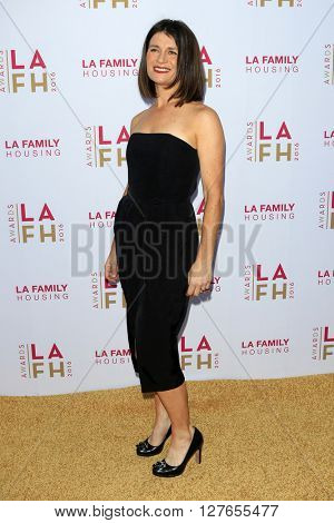 LOS ANGELES - APR 21:  Carrie Lazar at the LA Family Housing Awards at the The Lot on April 21, 2016 in Los Angeles, CA