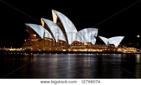 "Opera House During The ""vivid Sydney"" Festival - 20 June, 2010"